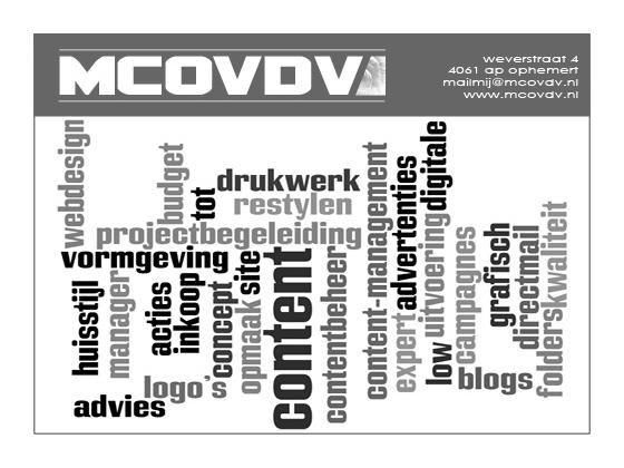 mcovdv met oog voor detail