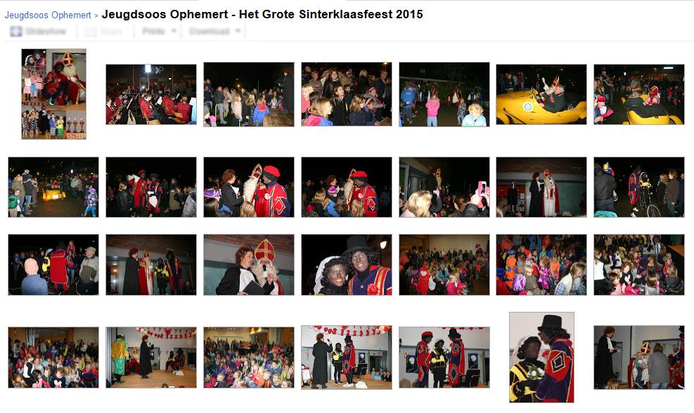 Jeugdsoos Ophemert - Het Grote Sinterklaasfeest 2015
